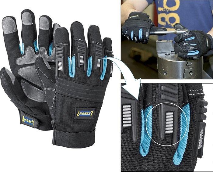 HAZET 1987-5 Ochranné pracovní rukavice vel. L  ebd6e19714